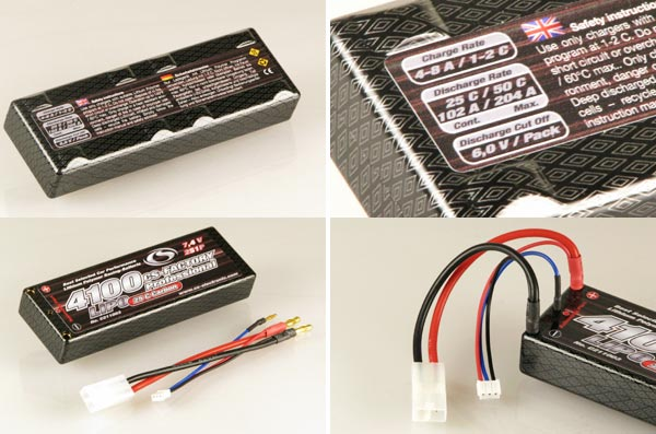cs factory 4100mah lipo pack im hardcase. Black Bedroom Furniture Sets. Home Design Ideas
