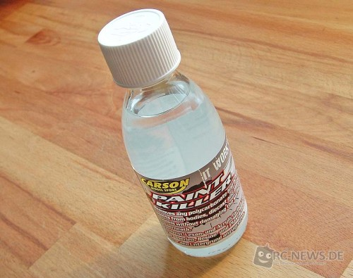 100 ml-Flasche des Carson Paint Killer Lackentferner
