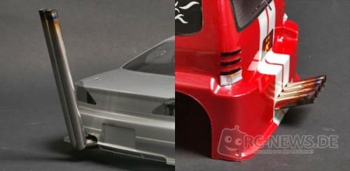 Blade Racing Auspuff-Endrohre