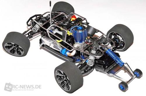 VG Racing Wheelie Bar für Traxxas Jato
