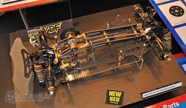 Vdf Rc Drift Chassis Pics : Spielwarenmesse tamiya ta vdf drift chassis kit