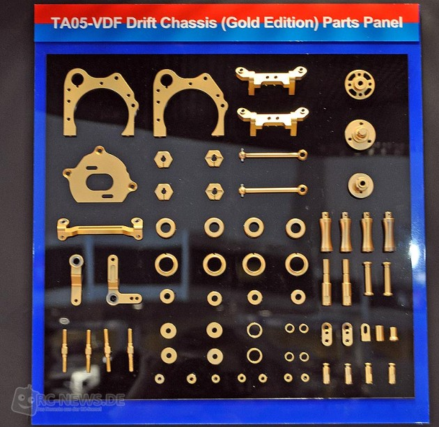 Ta05 Vdf 2 : Spielwarenmesse tamiya ta vdf drift chassis kit
