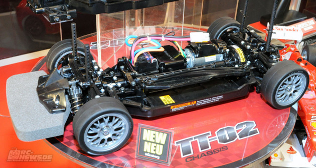 Tamiya TT 02 Chassis 02 630x336 Tamiya TT02 Just Arrived! (Highlights of Nuremberg International Toy Fair 2013)