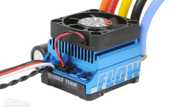 Testbericht LRP Flow WorksTeam Brushless-Regler
