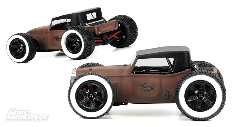pro line rat rod f r 1 16 e revo. Black Bedroom Furniture Sets. Home Design Ideas