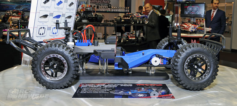 Spielwarenmesse 2014: Traxxas Slash 2WD LCG-Chassis
