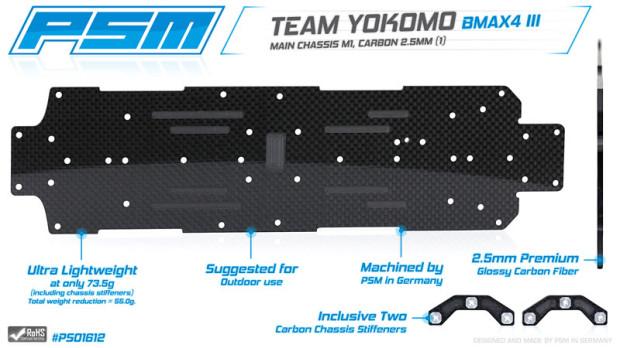PSM-2-5-mm-Kohlefaser-Chassis-Yokomo-BMAX4-III-2