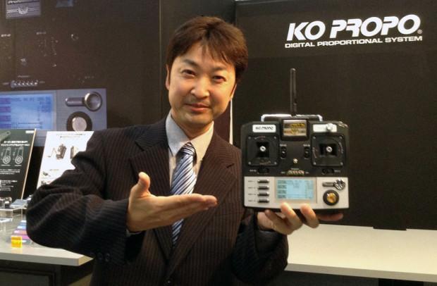 Shizuoka-Hobby-Show-2014-KO-Propo-Esprit-IV-Knueppelsender-1
