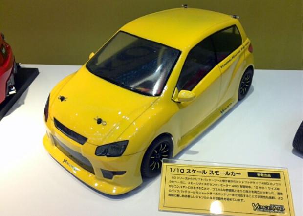 Shizuoka-Hobby-Show-2014-Yokomo-4WD-M-Chassis-Prototyp-1