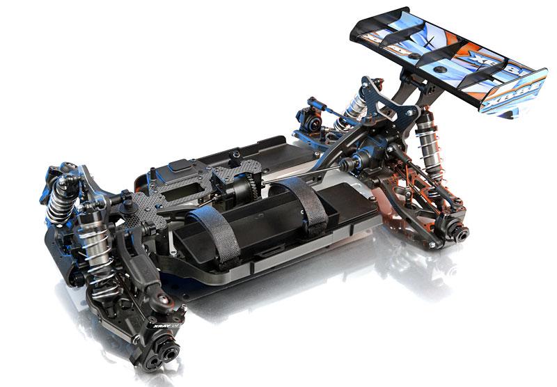 xray xb8e 1 8 elektro buggy. Black Bedroom Furniture Sets. Home Design Ideas