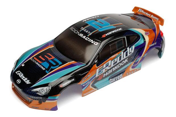 Lackierte-Scion-Racing-FR-S-Karosserie-Drift-Komplettraeder-1
