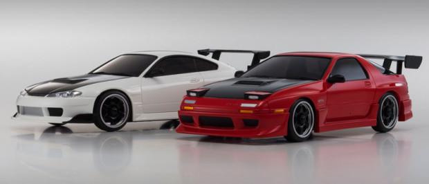 Kyosho-Mini-Z-AWD-Nissan-Silvia-S15-Mazda-RX-7-FC3S-1
