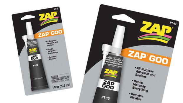 Zap-Goo-Alleskleber-Lexan-Karosserien