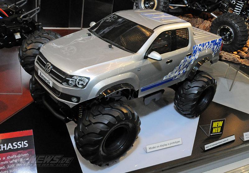 Spielwarenmesse 2015 Tamiya Volkswagen Amarok Custom Lift