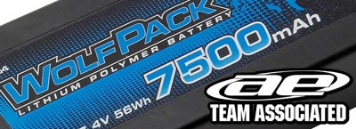 Team Associated WolfPack Gen2 7500mAh | TT Europe