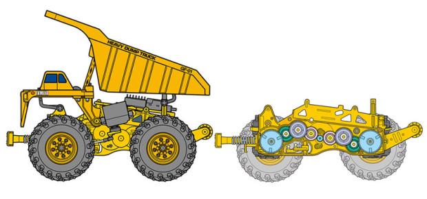 Tamiya-Heavy-Dump-Truck-GF-01-Chassis-58622-1