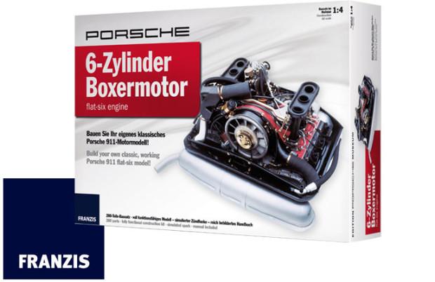 Franzis-Verlag--Porsche-911-Motor-Massstab-1-4
